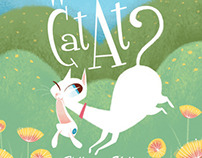 Where's the cat at? Children's book illustration