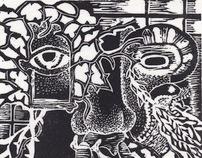 Prints: linocuts & etchings