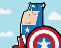 Captain America Vector