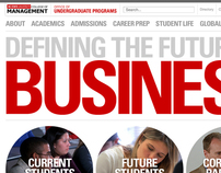 NC State College of Management Undergraduate Website