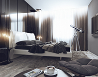 bachelor apartment. Samara 2012