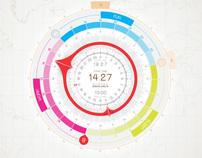 SleepLag.com - The clock for night owls