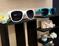 TOMS Sunglasses Display