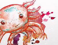 Fast paint: Axolotl and stuff