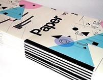 """PAPER ZINE #9 """"QUIETNESS"""" // April // 2013"""