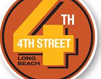LOGO & POSTER FOR 4TH STREET RETRO RAMBLE