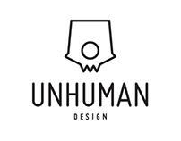 UNHUMAN design - LOGO