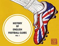 History of English Football Clubs, Vol. 1