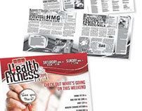 Health and Fitness Expo // Newspaper Insert