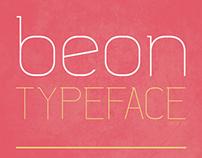 Beon Typeface