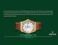 Rolex: Print—Senior Designer