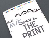 God save the print