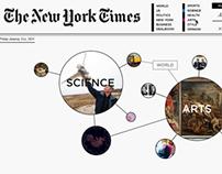 NYT Website Concept