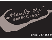 Headz-Up Business Card Redesign