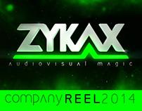 Zykax company reel 2014