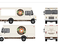 Branding - Organic Burger Truck