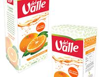 Proposta de embalagem - Suco de Laranja Del Valle