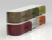 Pinch Pot spice system