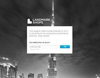 LandmarkShops - Coming Soon Page