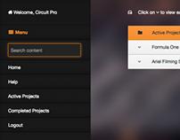 Client Site Dashboard