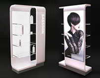 Vidal Sassoon retail furniture