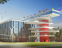 Takween Entry of Colider center competition