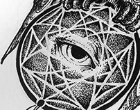 Tattoo design: The catchdreamers