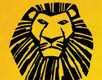 Print Design - THE LION KING