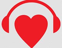 Nova identidade visual da Rádio Falando de Amor