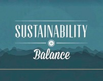 Sustainability is Balance // Video Animation