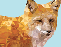 Fox Digital Illustration