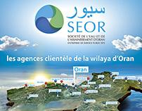 SEOR situation of customer agencies Oran departement