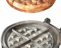 Views of a Waffle Iron