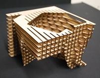 Pavilion Design_Tensile Waffle Construction