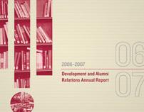 Development and Alumni Relations 06-07 Annual Report
