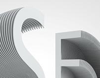 interactive typography / architect  /