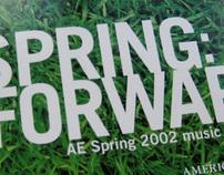 American Eagle Spring 2002 CD Music Sampler