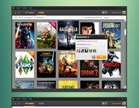 Origin Client: User Game Library