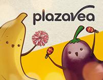 Plaza Vea - Ilustraciones Fanpage