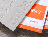 Coates Hire Brand Guidelines