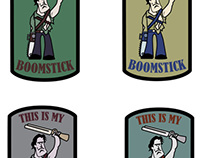Morale Patches - BOOMSTICK!