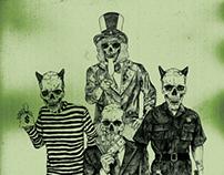 The Vandon Arms. Custom album artwork.