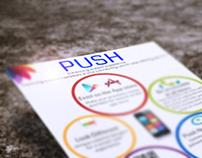 Push Engine - Flyer