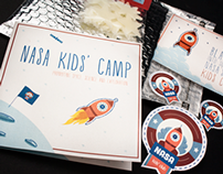 Nasa Kids' Camp // Direct Mail
