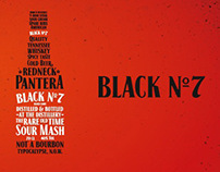 Black No.7 — Typocalypse