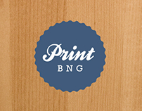 Print BNG Website and Branding