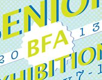 BFA Show Poster