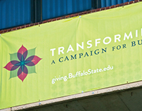 Buffalo State - Transforming Lives Campaign Identity