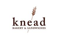 Knead Logotype and Identity System