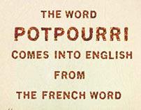 Potpourri Type Specimen